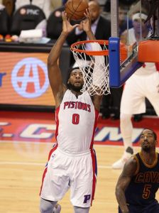 Andre Drummond is a very good player, but do his strengths outweigh his weaknesses? Image: Kirthmon F. Dozier Detroit Free Press