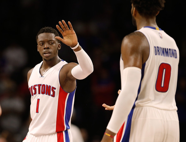 Andre Drummond and Reggie Jackson