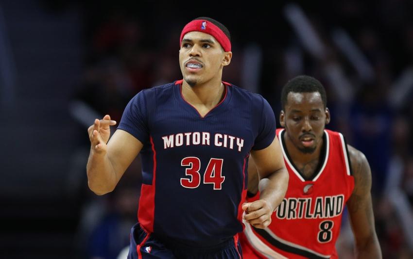 NBA: Portland Trail Blazers at Detroit Pistons
