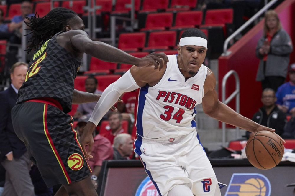 Tobias Harris(Pistons vs Hawks)
