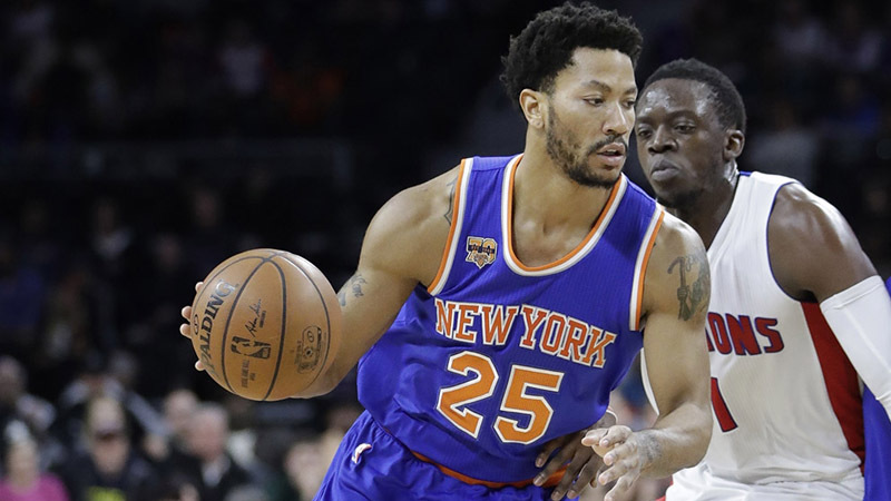 Derrick Rose and Reggie Jackson